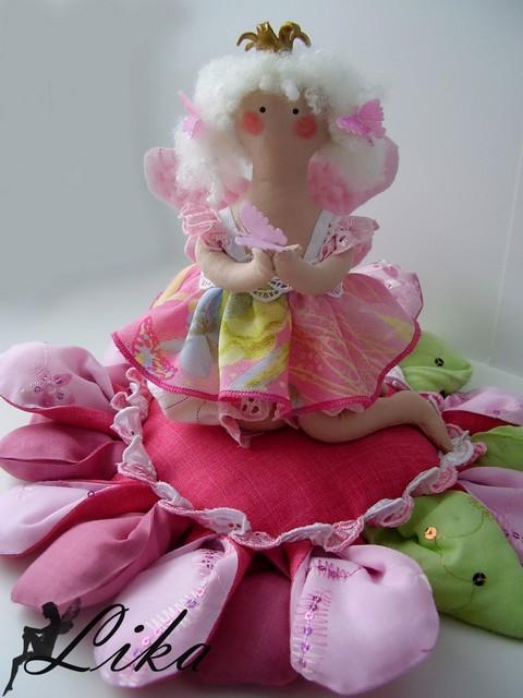 Как сшить куклу дюймовочку